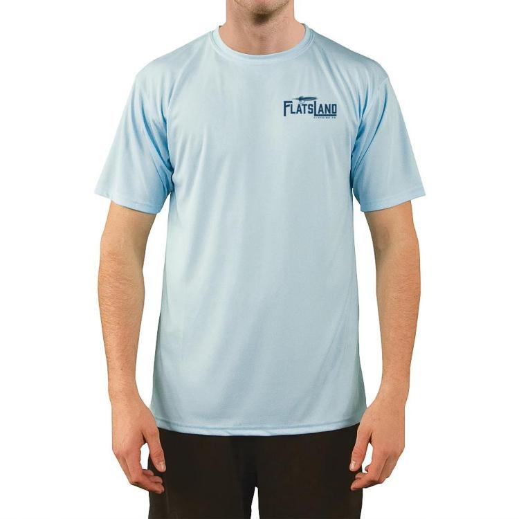 Flatsland Clothing Company LLC - Flatsland Logo Short Sleeve Performance Shirt - Performance Shirt