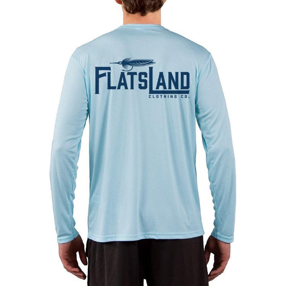 Flatsland Clothing Co. - 'Flatsland' Performance Shirt - Arctic Blue, Long Sleeve - Performance Shirt