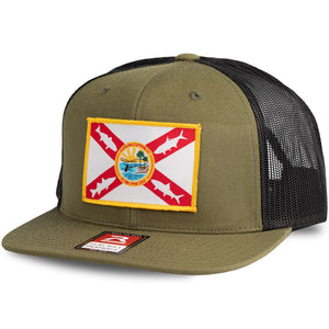 Flatsland Clothing Company LLC - Home Sweet Flats V.2 Flat Bill Trucker Hat - Hats
