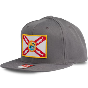 Flatsland Clothing Company LLC - Home Sweet Flats V.2 Flat Bill Snapback - Hats