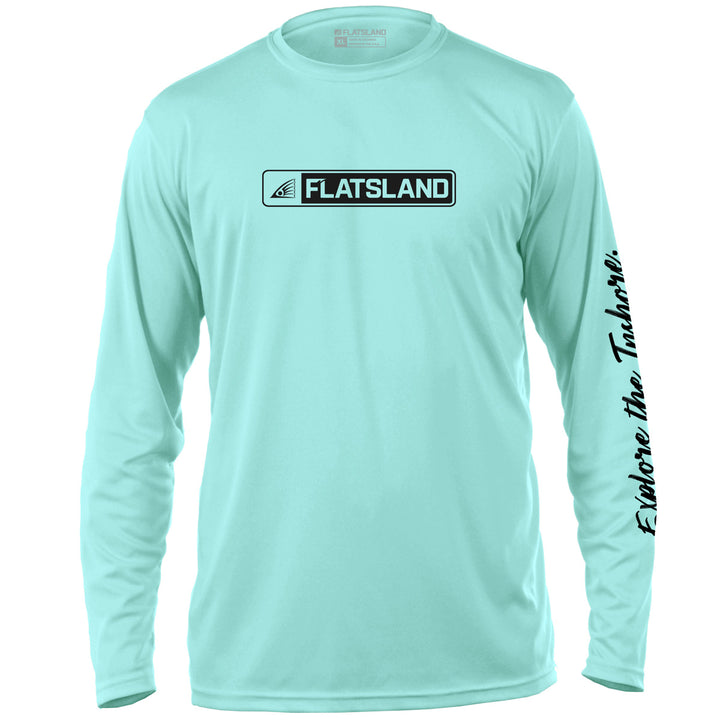Flatsland Clothing Company LLC - Boxed Logo Performance Shirt - Performance Shirt