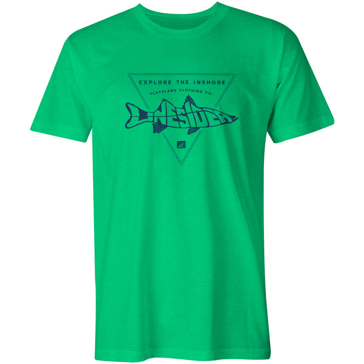 Flatsland Clothing Company LLC - Linesider Eco Tri-Blend Tee - Short Sleeve T-shirts