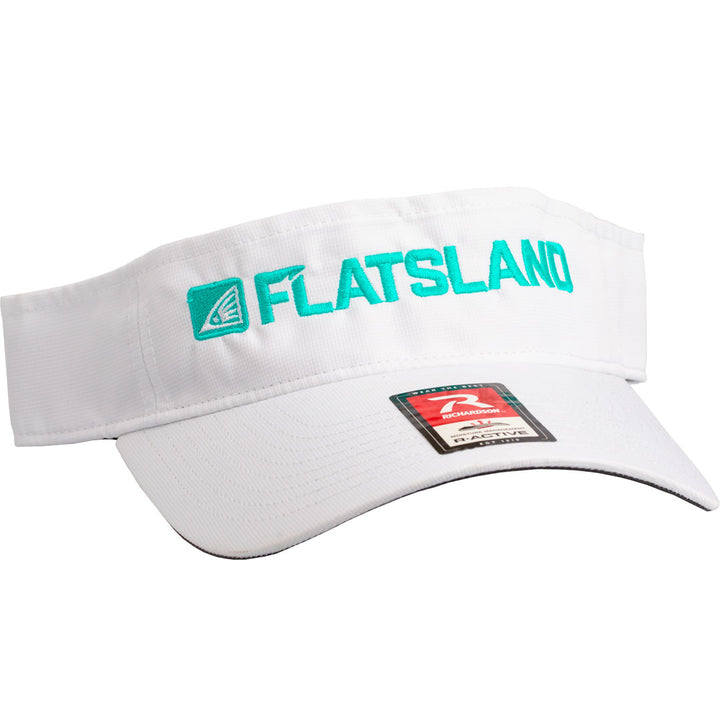 Flatsland Clothing Company LLC - Logo Performance Visor - Hats