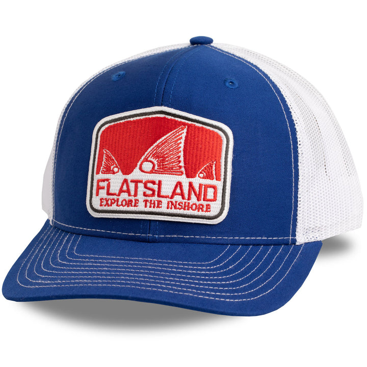 Flatsland Clothing Company LLC - Red Tails Rising V.2 Trucker Hat - Hats