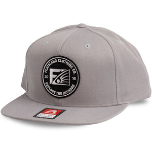 Flatsland Clothing Company LLC - Smooth Waters Flat Bill Snapback - Hats