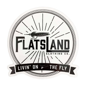 Flatsland Clothing Co. - Flats Livin' Sticker - Stickers