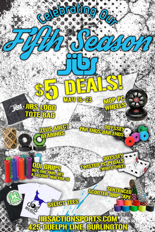 Fifth Season Sale at Jibs Action Sports