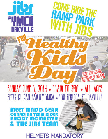 Jibs at YMCA Healthy Kids Day