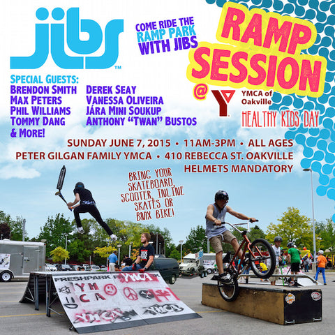 Jibs Ramp Session at YMCA Oakville