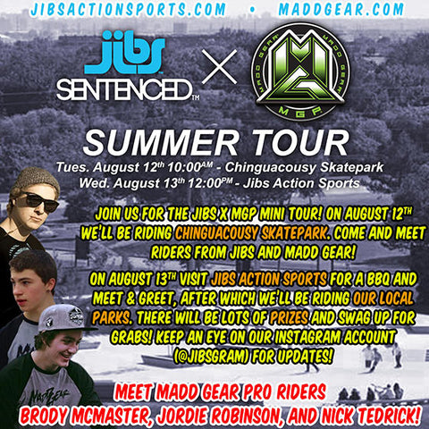 Jibs X MGP Summer Tour