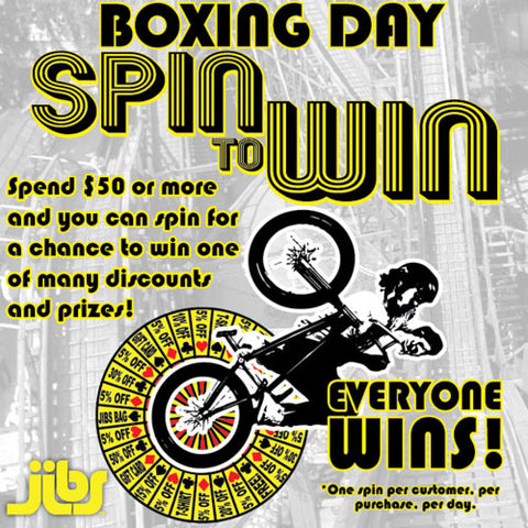 Boxing Day Spin to Win
