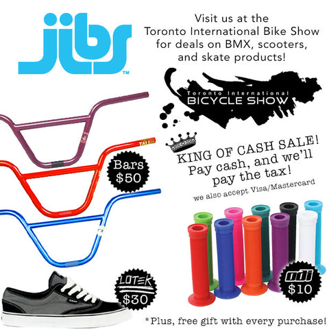 Jibs at the Toronto International Bike Show