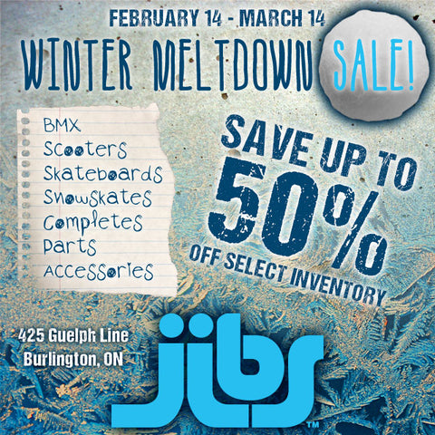 Jibs Winter Meltdown Sale