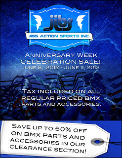 Jibs Anniversary Week Blowout Sale
