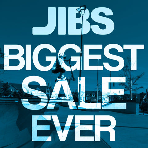 Jibs Biggest Sale Ever