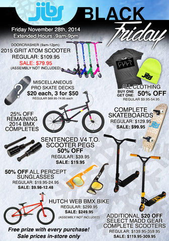 Jibs Action Sports Black Friday