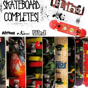 Skateboards at Jibs!