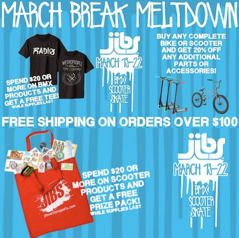 Jibs March Break Meltdown