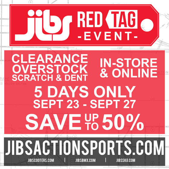 Jibs Red Tag Event