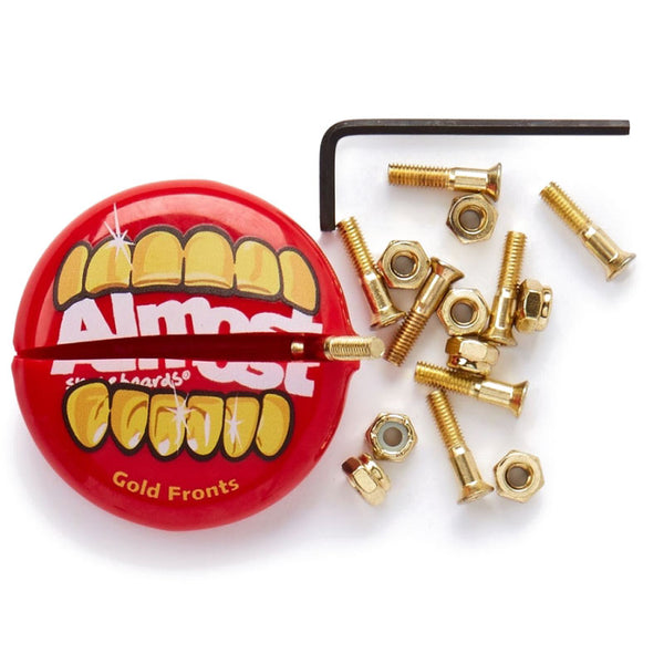 Almost Gold Nuts In Your Mouth Hardware