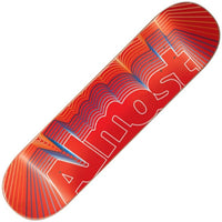 Almost Vibrate Logo Hybrid Deck 8.0""