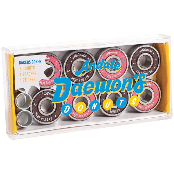 Andale Daewon's Donuts Pro Rated Bearings - Jibs Action Sports