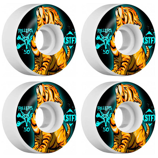 Bones STF Fellers Roar V3 Wheels 50mm - Jibs Action Sports