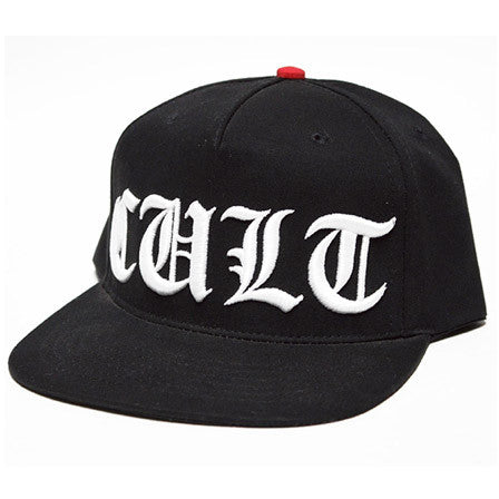 Cult OE / Old English Snapback Hat - Jibs Action Sports