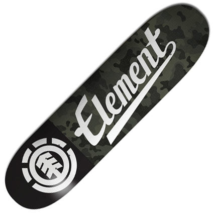 Element Bark Camo Deck 7.75""