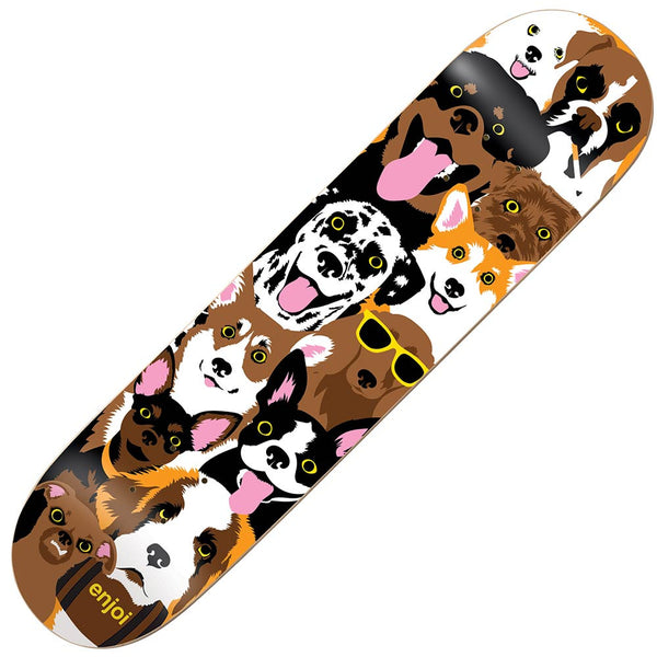 Enjoi Dog Collage R7 Deck 7.75