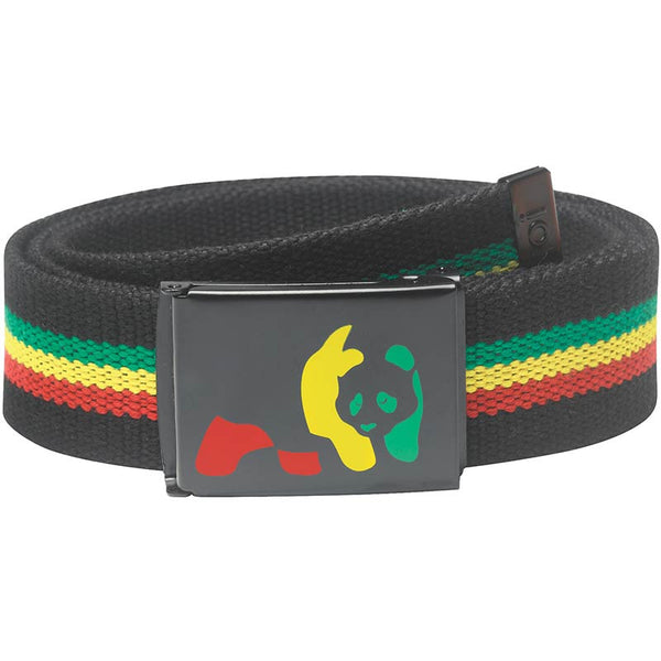 Enjoi Rasta Panda Web Belt - Jibs Action Sports