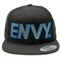 Envy 3D Logo Snapback - Jibs Action Sports