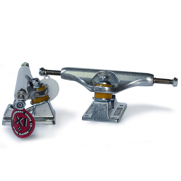 Independent 139 Stage 11 Silver Skateboard Truck - Jibs Action Sports