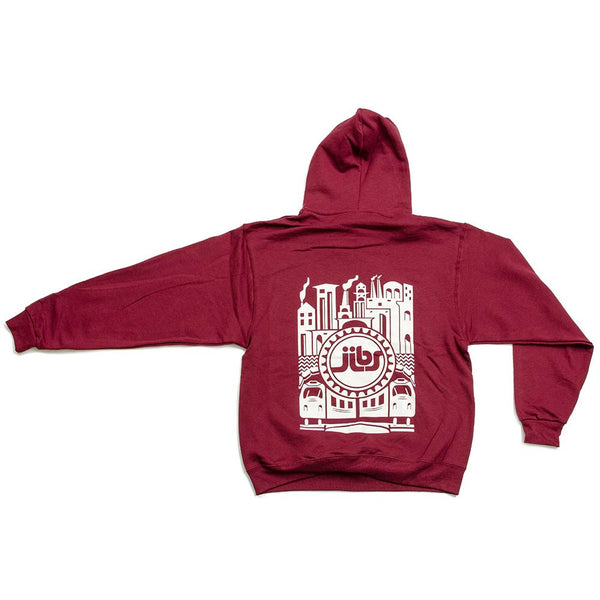 Jibs Burli Pullover Fleece Hoodie - Jibs Action Sports