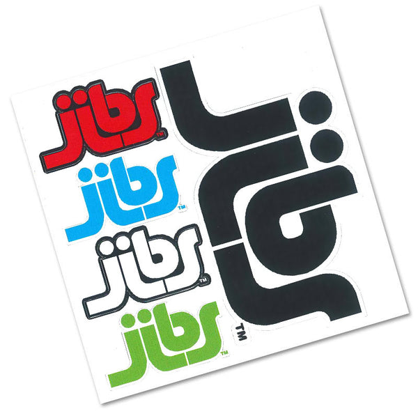 Jibs Five Sticker Pack