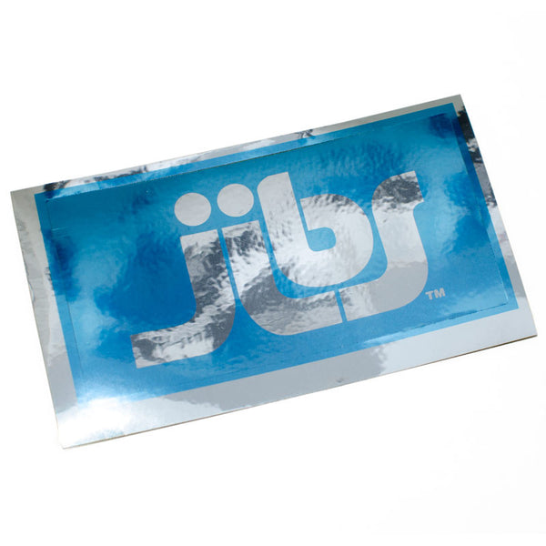 Jibs Mirror Logo Sticker - Jibs Action Sports