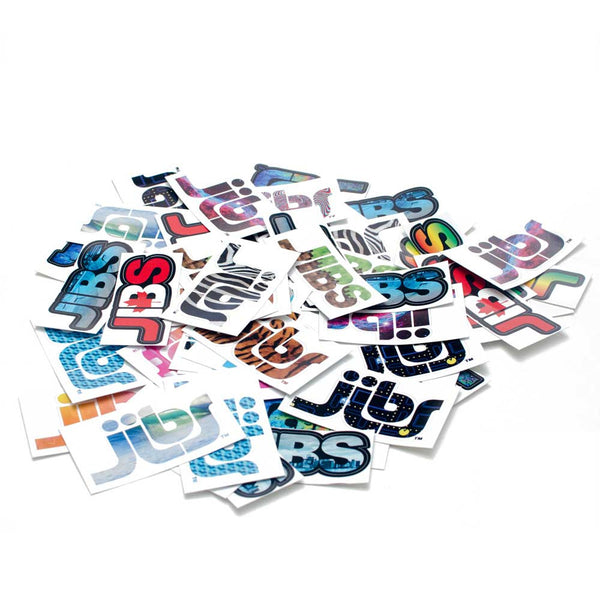 Jibs 50 Sticker Pack