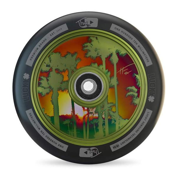 Lucky TFox Guac Green Signature 100mm Wheel