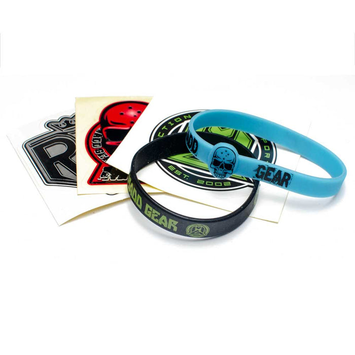 Madd Gear Sticker & Wrist Band Pack