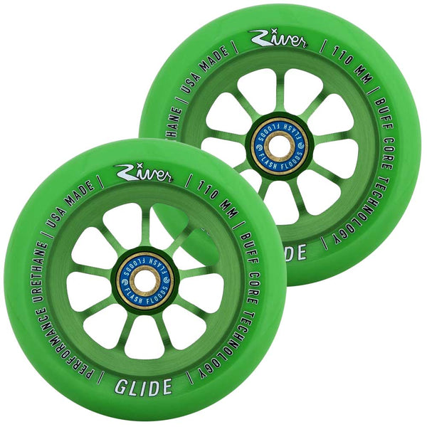 River Wheel Co. Emerald Glides 110mm