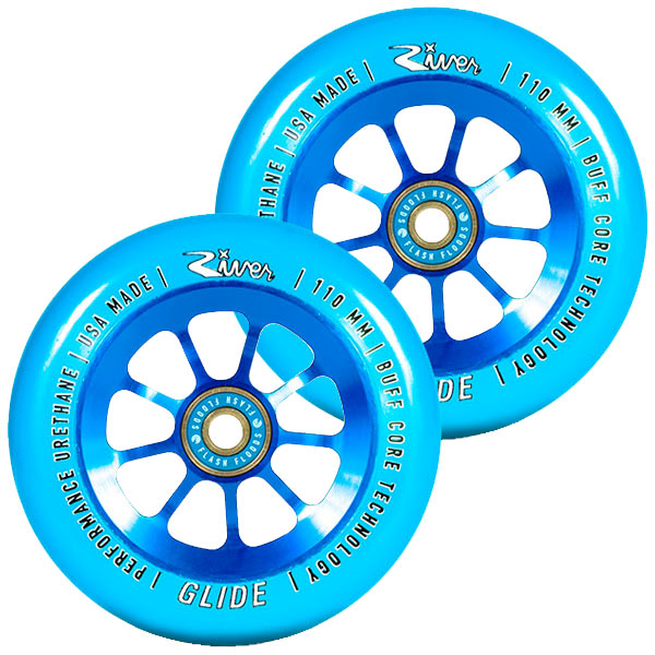 River Wheel Co. Sapphire Glide 110mm Wheels