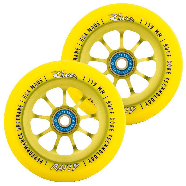 River Wheel Co. Sunrise Rapid 110mm Wheels