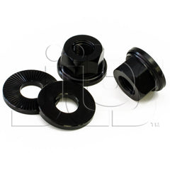 Salt BMX Alloy Axle Nuts - Jibs Action Sports