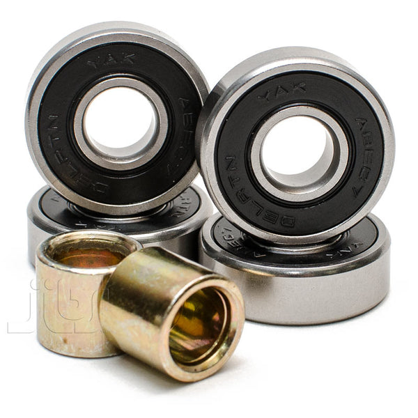 YAK ABEC7 Precision Bearings 4-Pack | Jibs Action Sports