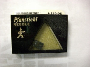 Genuine Audio Technica Diamond Needle Pfanstiehl # 210-DE