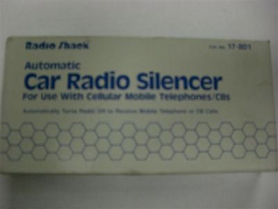 Radio Shack Automatic Car Radio Silencer