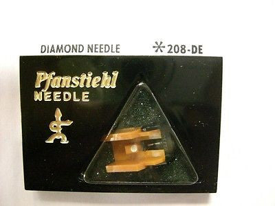 Genuine Audio Technica Diamond Needle Pfanstiehl # 208-DE