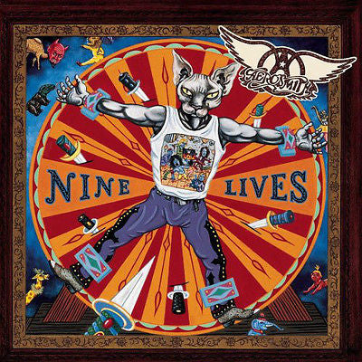 Nine Lives [PA] by Aerosmith (CD, Mar-1997, Columbia (USA))