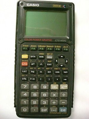 Casio CFX-9850G 32KB Color Power Graphic Calculator