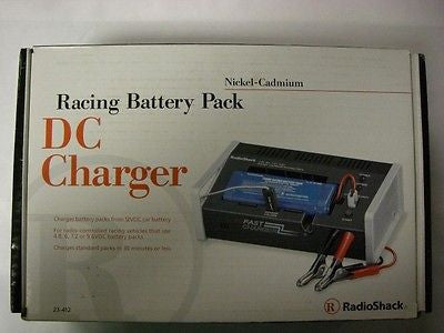 Radio Shack 230-0412 Racing Battery Pack DC Charger